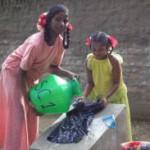 Washing Day, Frolich Children's Home, Pandur