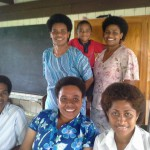 Final year students, Methodist Deaconess House, Suva Fiji. (photo: Marion Gledhill 2013)